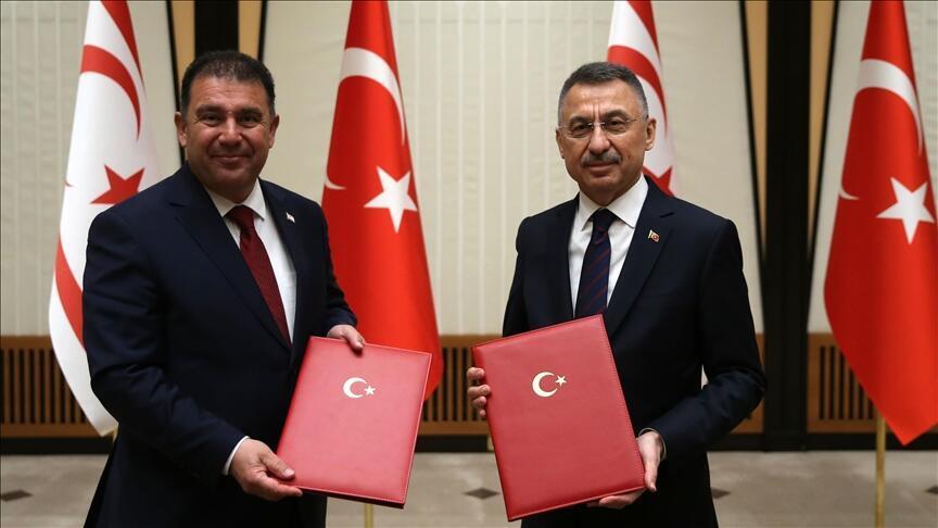 Türkiye ve Türk Kıbrıs bir mali işbirliği anlaşması imzaladı