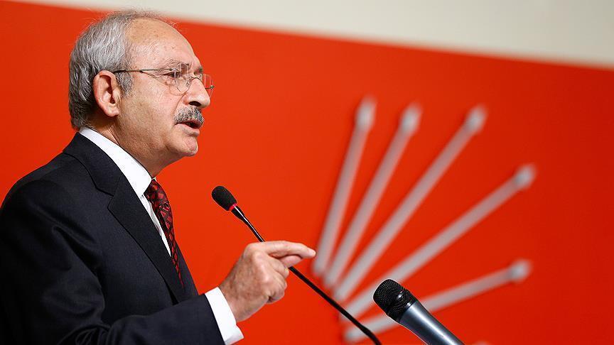 CHP lideri, yeterince yapmamanın Türkiye'deki sorunları daha da kötüleştirdiğini söylüyor