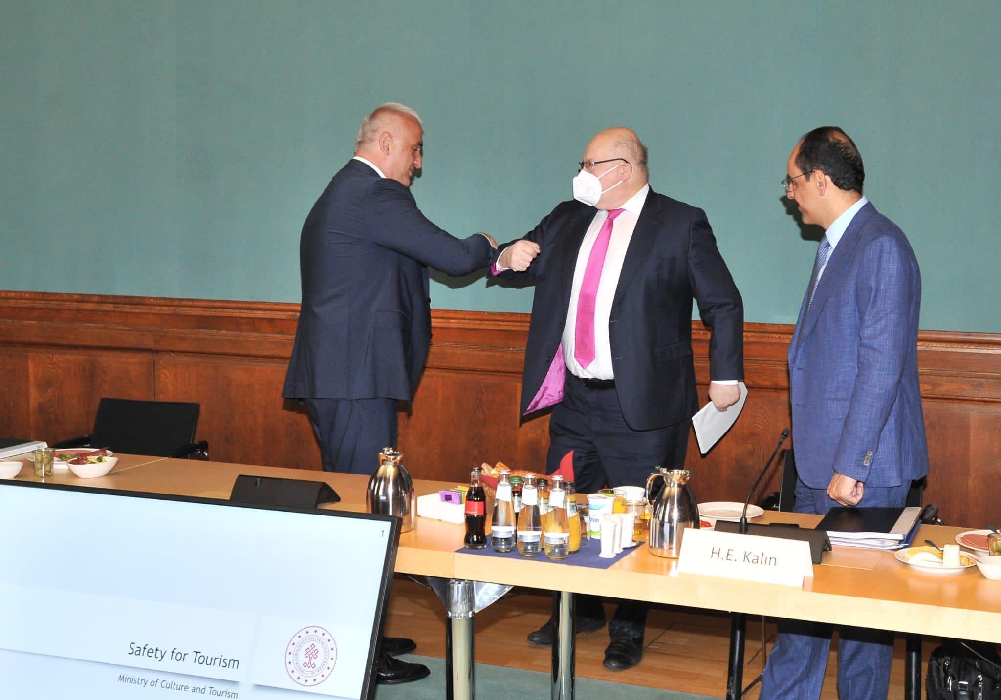 Top türkische und deutsche Beamte treffen sich in Berlin, um über sicheren Tourismus zu sprechen