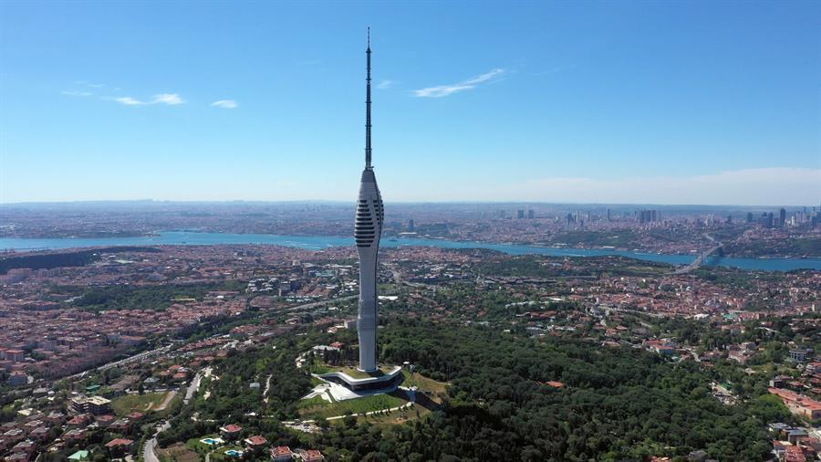 Erdogan abre la torre de comunicaciones amlıca