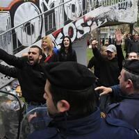 Golden Dawn MP protests Turkish series by peeing on TV channel door - World News