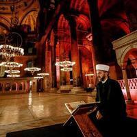 Turkey rebuts Greece on Quran session in Hagia Sophia