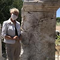 Unearthed relic in Patara honors Roman senator