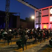 Turkish State Theaters reopen with open-air play