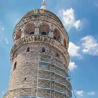 Restoration works at Istanbul's landmark suspended due to birds