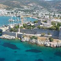 Bodrum Castle waiting for underwater archeology enthusiasts