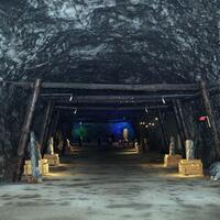 Visitors flock to 5,000-year-old salt cave on first day of holiday