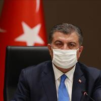 Turkey's health minister accepts wear-a-mask challenge
