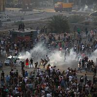 Rage erupts at first protest since deadly Beirut blast