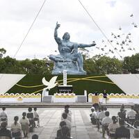 Nagasaki marks 75 years since atomic bombing Nagasaki marks