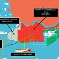 Turkey shares map of Oruç Reis's offshore activity