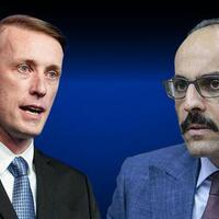 Image Turkey's presidential spokesperson meets with US national security adviser