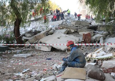 Rescuers race to find survivors after magnitude-6.6 earthquake