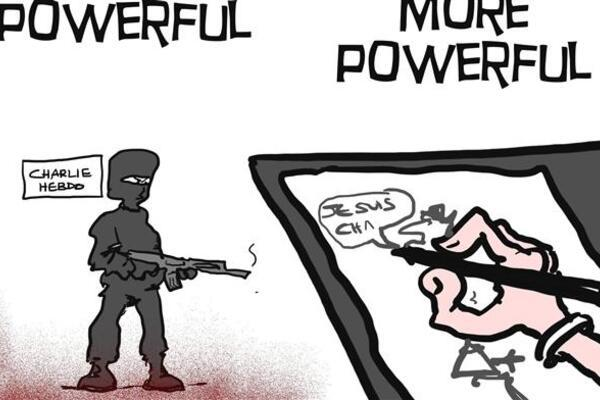 Cartoonists Put Pen To Paper In Solidarity With Charlie Hebdo World News