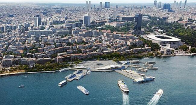 'Seagull-shaped' transfer center in Istanbul's Kabataş to include cafes, market, art gallery