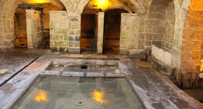 Click to learn more about Gaziantep's underground facilities