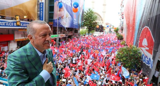 Opposition's vow 'admission of defeat', Erdoğan says in campaign finale