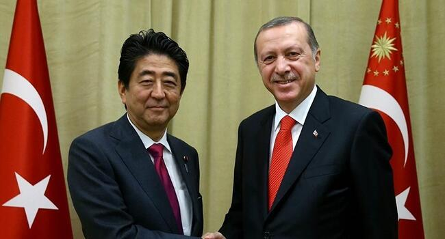 Turkish President Erdoğan, Japanese PM Abe discuss speeding up nuclear plant construction