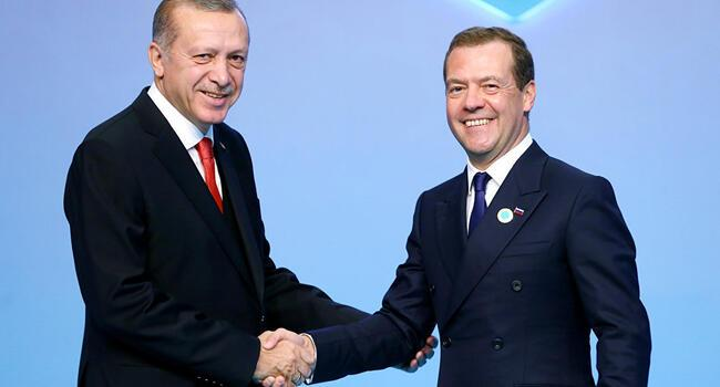 Russian PM Medvedev to attend President Erdoğans inauguration
