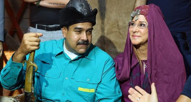 Maduro visits set of Turkish TV series