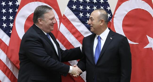 Turkish, American top diplomats meet for first time after sanctions