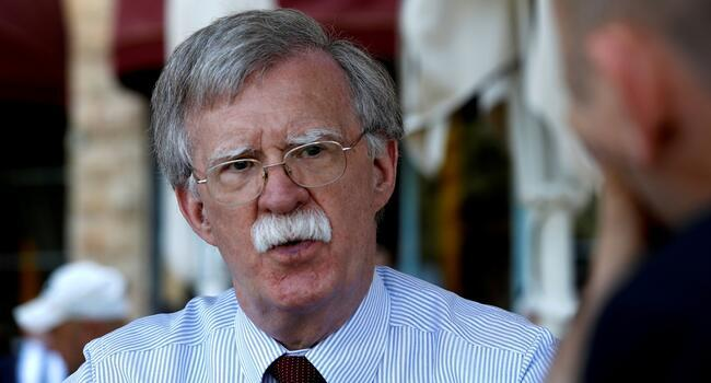 "US-Turkey crisis could end ""instantly"" if pastor freed: Bolton"