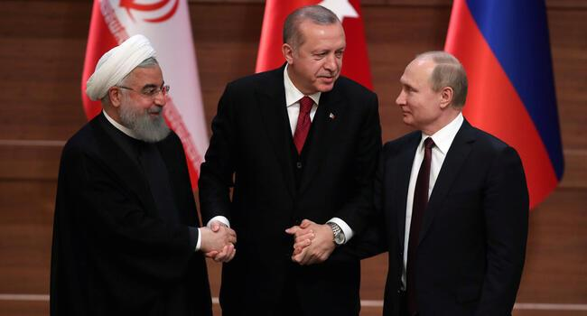 Turkey, Russia, Iran meet for key Idlib summit in Tehran