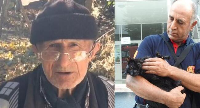Turkish pensioner dies after saving cat from fire