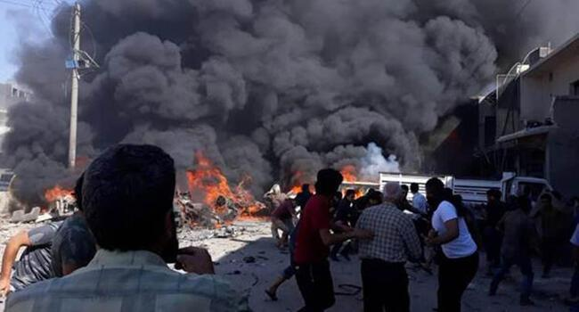 Syria rebels, jihadists clash in Idlib as car bomb explodes near Turkey border: Monitor