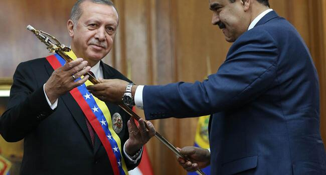 Turkey determined to enhance ties with Venezuela: Erdoğan