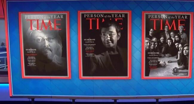 Khashoggi, other persecuted journalists named Time Person of the Year