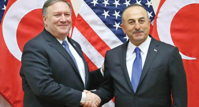 Turkish, US ministers discuss Syria after Erdoğan warns of military operation into north