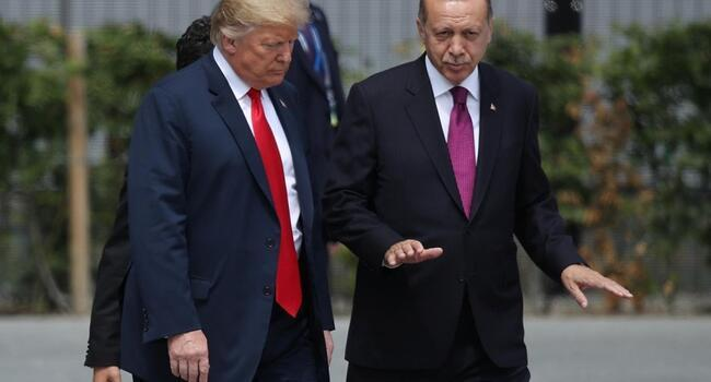 Trump says Erdoğan assures will eradicate any ISIL left in Syria