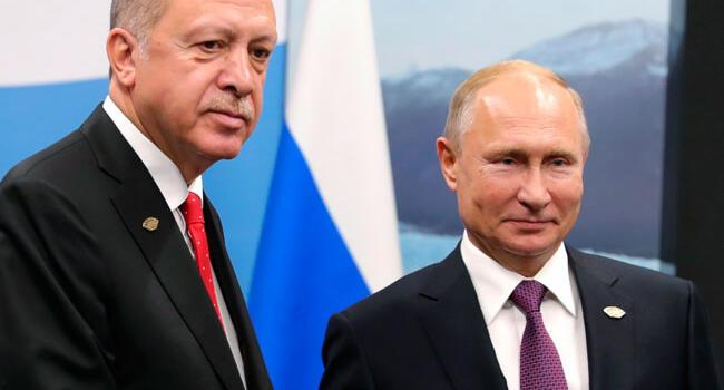 Syria tops agenda of Turkish, Russian leaders' meeting in Russia