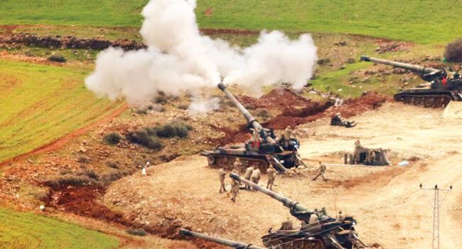 Turkey hits YPG targets in northern Syria