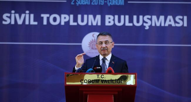 Turkey not to allow terror lairs on southern border: Vice President