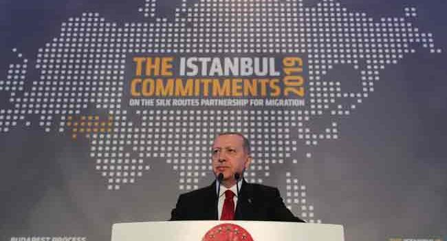 Turkey no longer able to face new refugee flow: Erdoğan