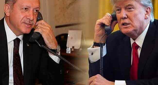 Erdoğan, Trump discuss Syria, economic ties over phone