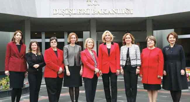 More women taking up ranks at Turkeys foreign ministry