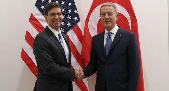 Turkish defense minister, US counterpart discuss S-400s, Syria