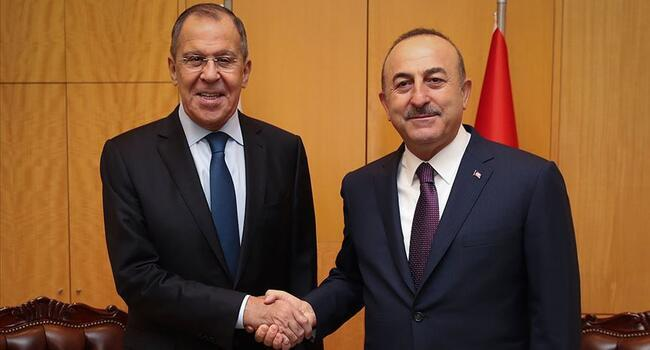 Turkish, Russian foreign ministers discuss Syria