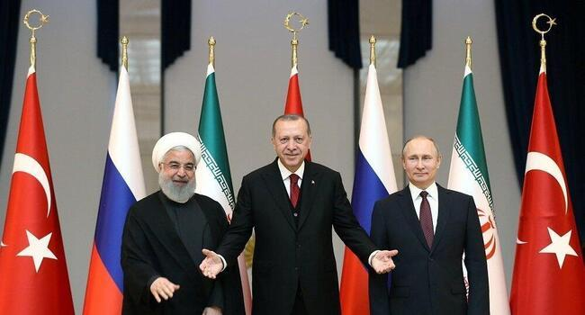 Turkey, Iran, Russia meet in fifth Syria summit