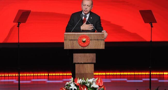 Up to 3 million Syrians can be settled in safe zone: Erdoğan