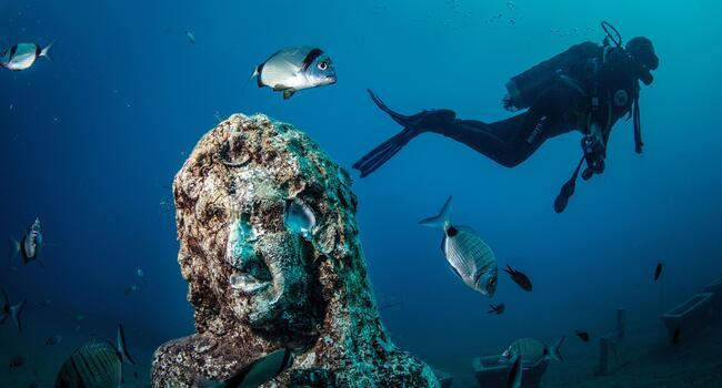 A magical journey into the sea: Turkey's underwater museum