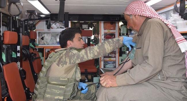 Turkey provides health checks to civilians in N Syria