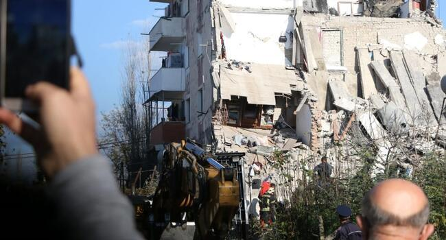 Buildings down after strongest tremor in decades hits Albania