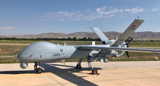 Turkey deploys unmanned aerial vehicles to Turkish Cyprus