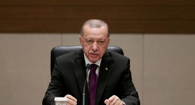 Nation overcoming earthquake in unity, solidarity, Erdoğan says
