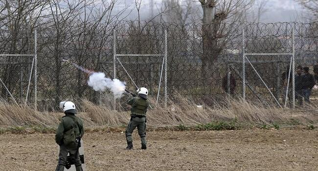 Potentially lethal tear gas shells found on Greek border: Report