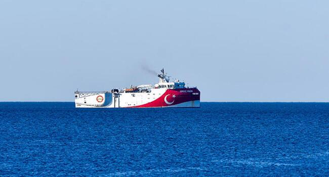 Turkeys Oruç Reis survey vessel returns to Antalya, easing tension in east Med